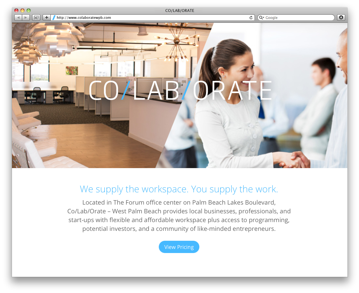 CO/LAB/ORATE Home Page