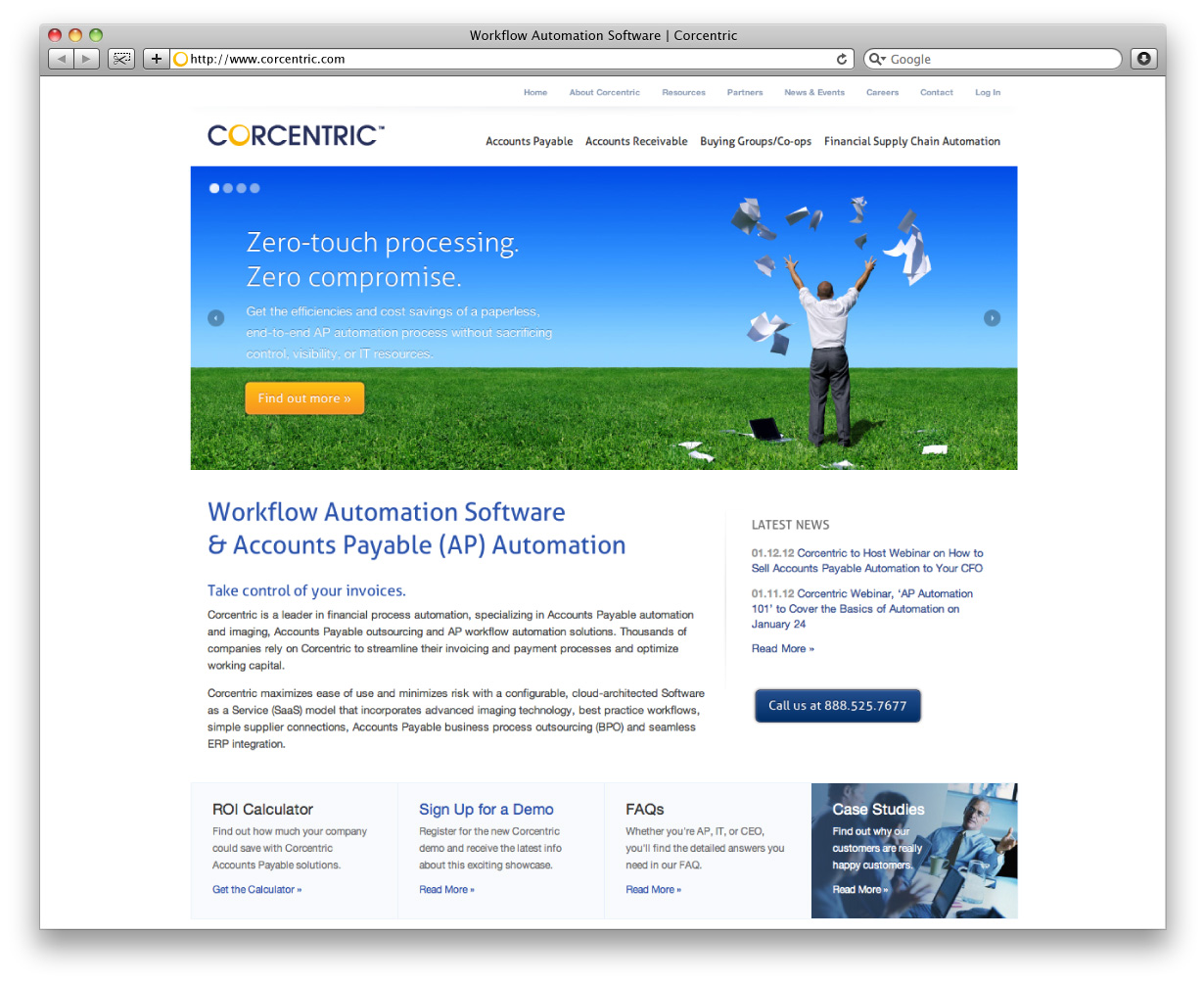 Corcentric Home Page