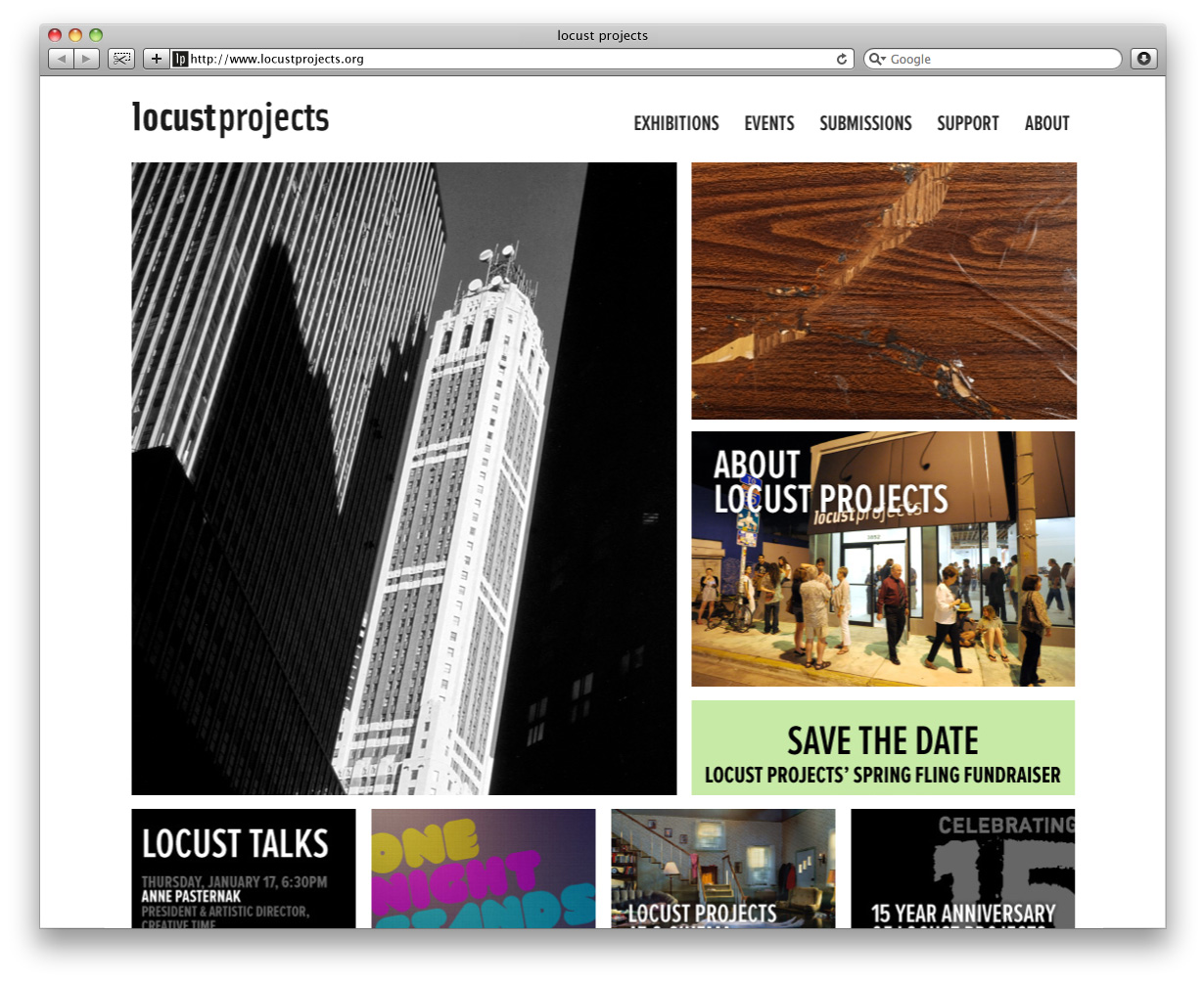 Locust Projects Home Page